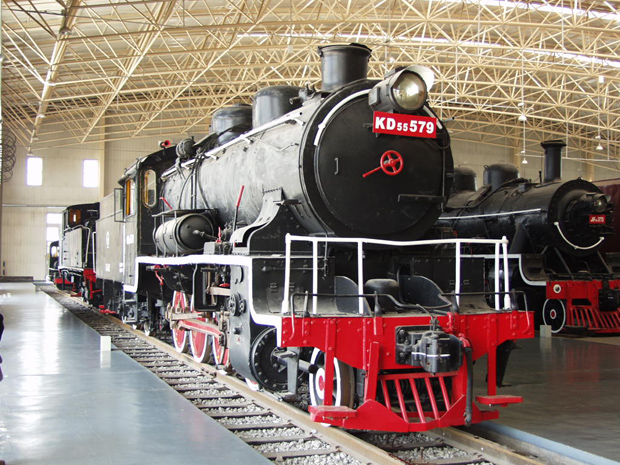 Datong Steam Locomotive Exhibition Hall Old Locomotive