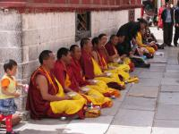 Dazhao Temple Monks