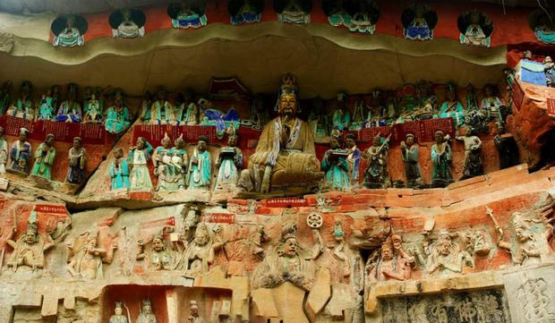Dazu Grottoes Rock Statue