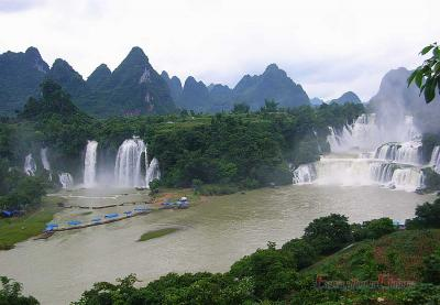 Nanning Detian Waterfall Photo