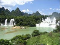 De Tian Waterfalls