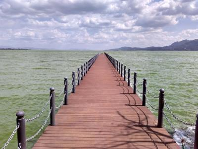 Bridge at Dianchi Lake