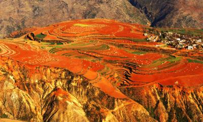 Dongchuan Red Land Photography