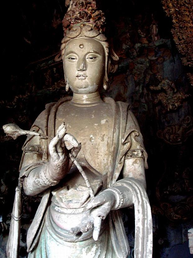 Take a Closer Look at The Bodhisattva Statues