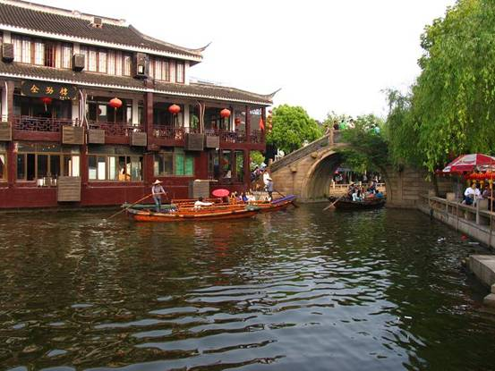 Water Town at Yangtze River Delta