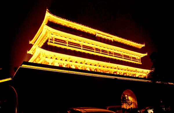 Drum Tower Nightscene