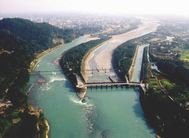 Dujiangyan Irrigation Project Dam