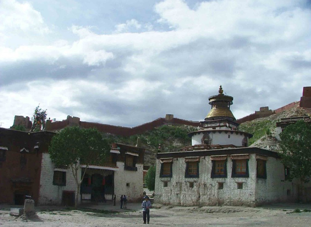 Dzong Fortress Local People