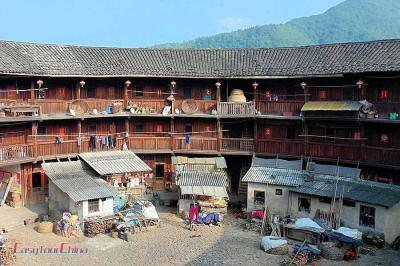 The First Tulou in Fujian