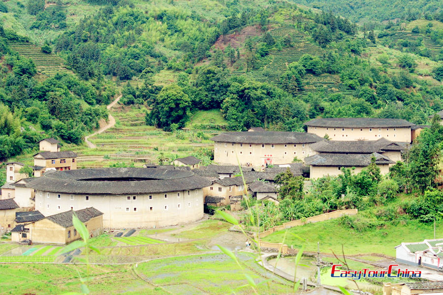 Images of Earth Towers of Hakka, Xiamen attractions