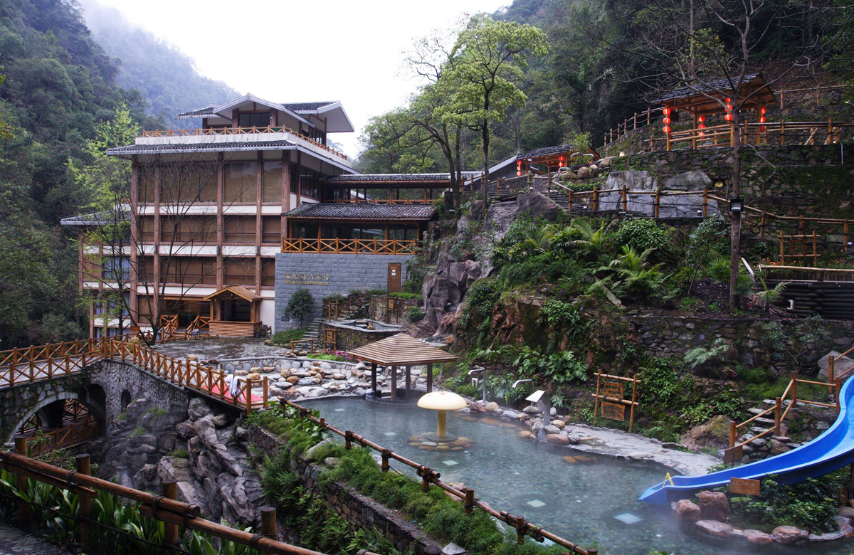 top China hot spring
