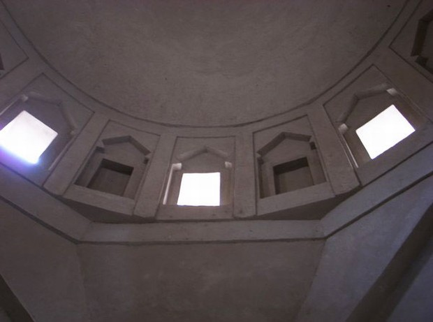 In The Minaret