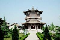 Famen Temple Scenery