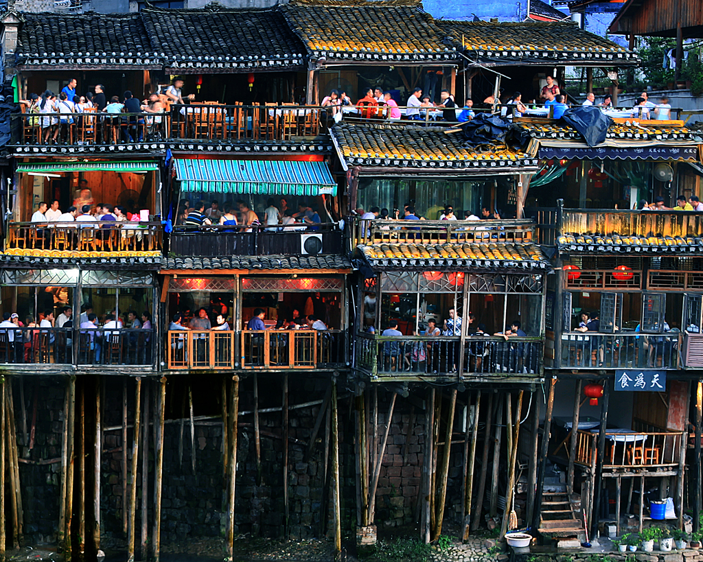 Stilted Building of Fenghuang Town