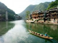 The Beautiful Scenery of Fenghuang Town