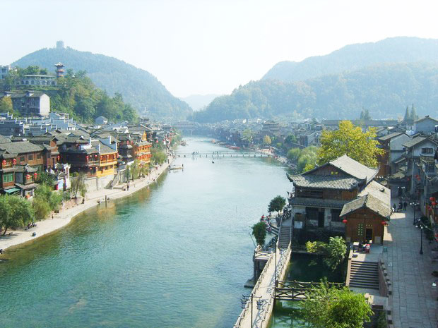 Overview of Fenghuang County