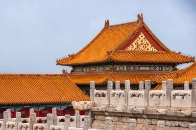 The Golden-top Architectures of Forbidden City