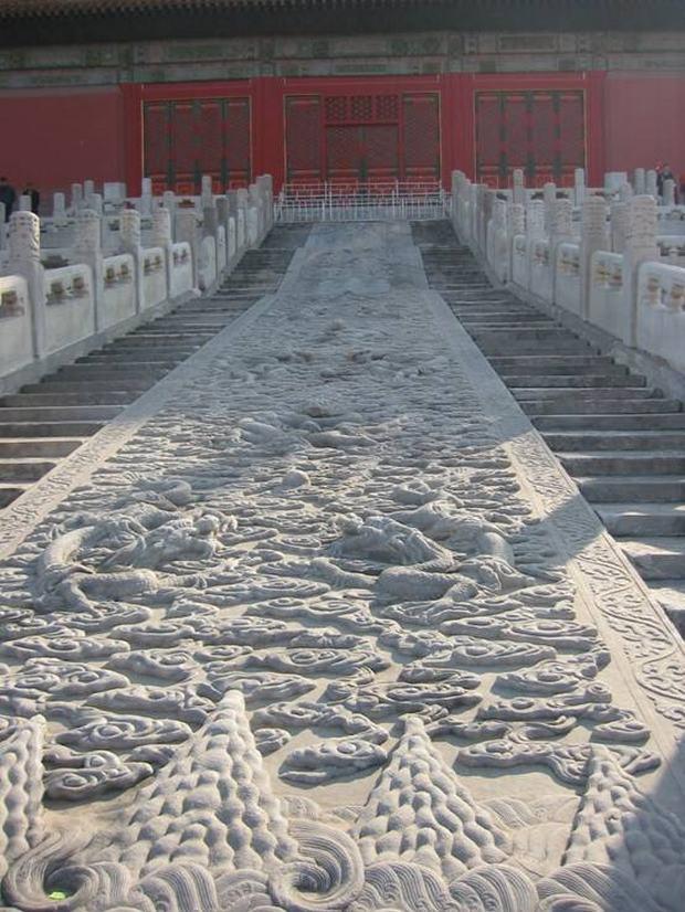 Forbidden City Marble Ramp Beijing Forbidden City Travel