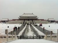 Beijing Palace Museum in Heavy Snow