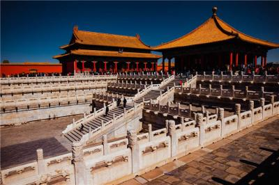 The beautiful architecture of Forbidden City