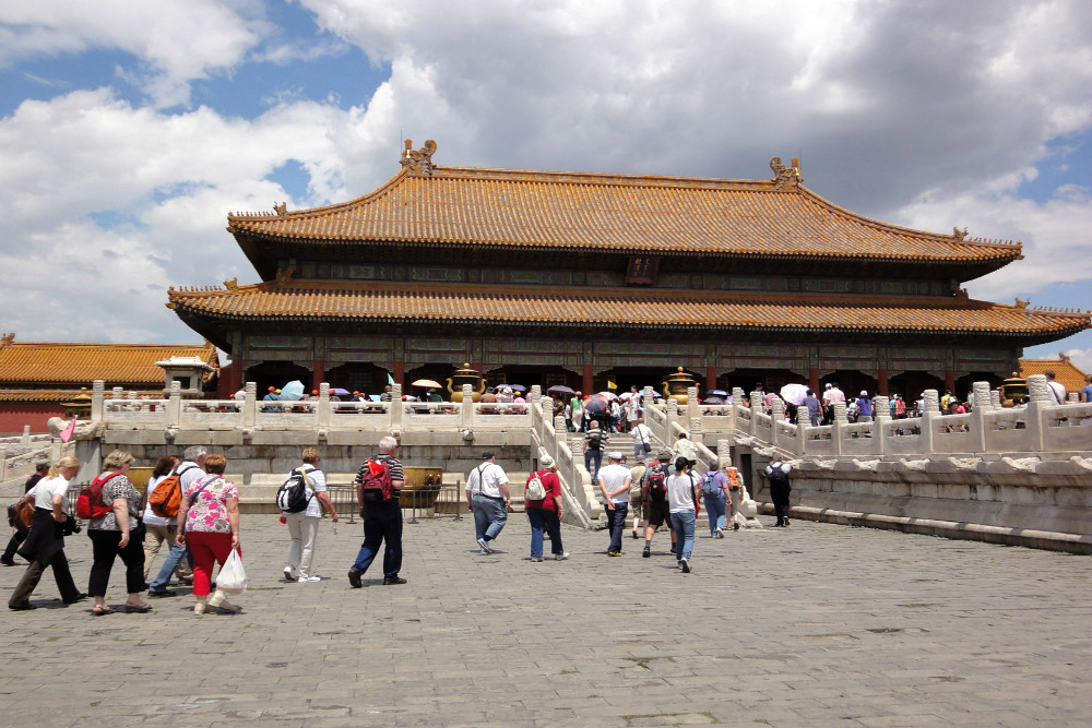 Photo of Palace of Heavenly Purity in Forbidden City