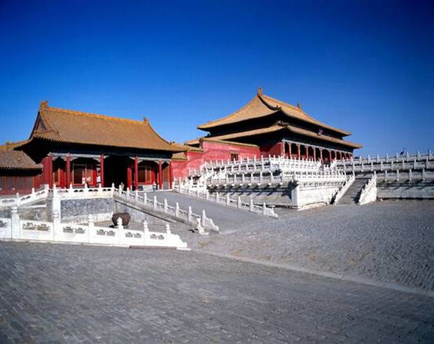 Forbidden City Side Gate