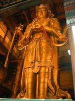 Statue of Avalokiteśvara at Gandantegchinleng Khiid