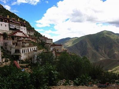 Ganden Monastery Photos