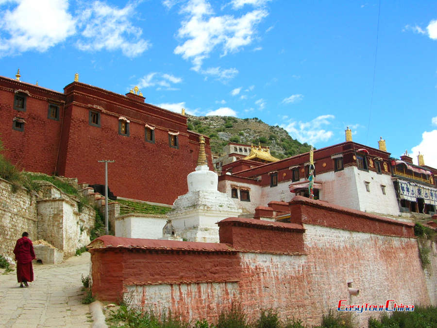 Ganden Monastery Hiking