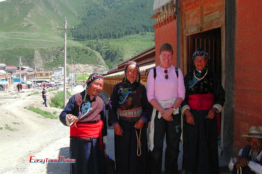 Travel to Xiahe Gansu