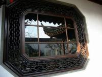 Garden of Net Master Wooden Window