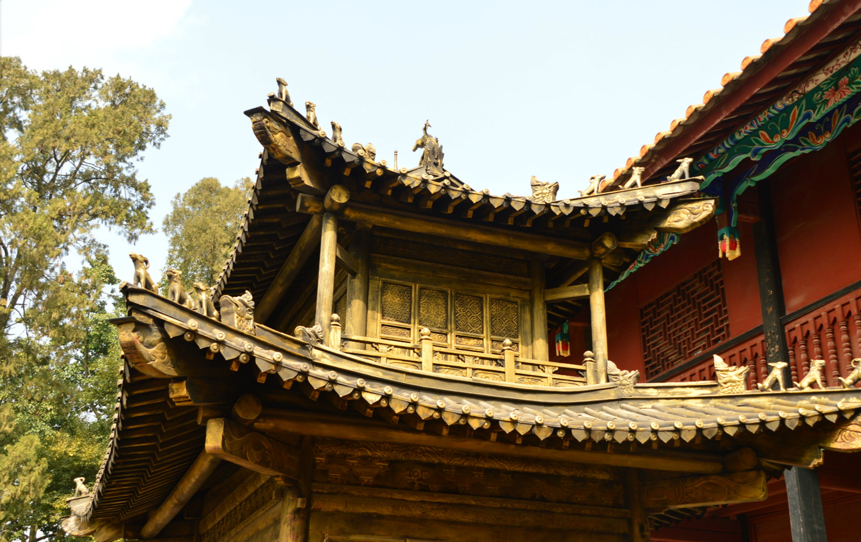 Kunming Golden Temple Images