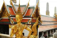 Buddhist Statues in The Grand Palace