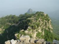 Beautiful Scenery of Tai'an Qi Great Wall Scene