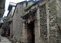 Xiaozhou Village Tour, oyster shell dwelling houses