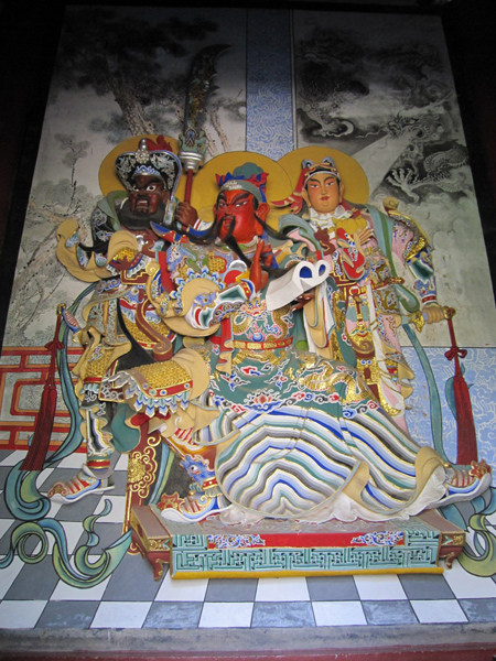 Guanlin Temple Colorful Painting