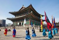 Guard-changing Ceremony at Gyeongbokgung Palace