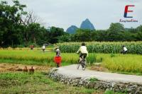 Bike from Guilin to Yangshuo