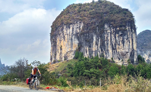 Cycle from Guilin to Yangshuo