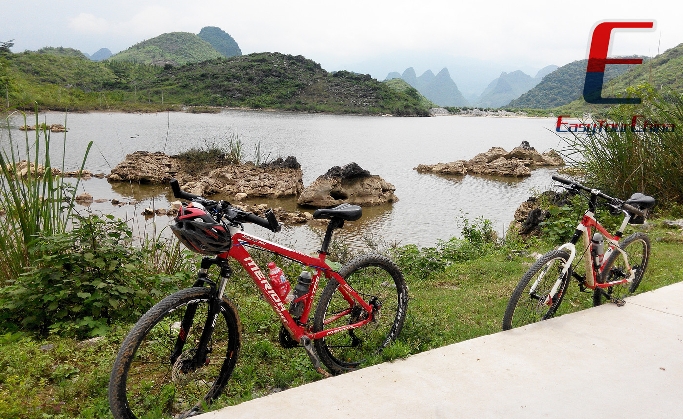 Cycling in Guilin