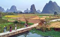 Guilin Yangshuo countryside Cycling