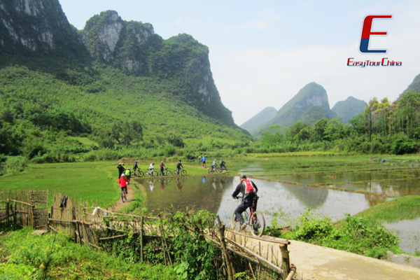 Bike in Yangshuo Countryside