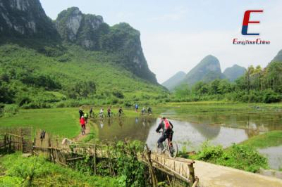 r1-day Bike Tour to Rural Huajiang River of Guilin