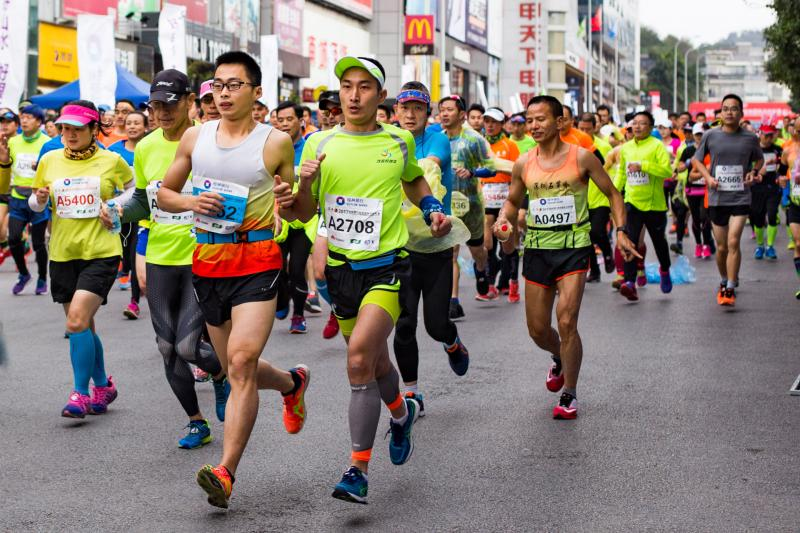 2017 Guilin International Marathon, Running in Guilin