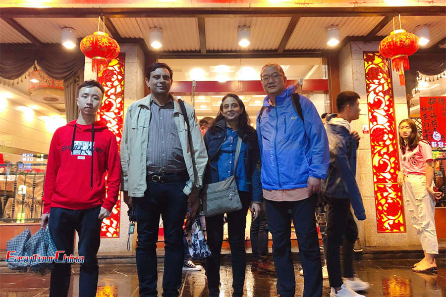 Indian couples tour in China