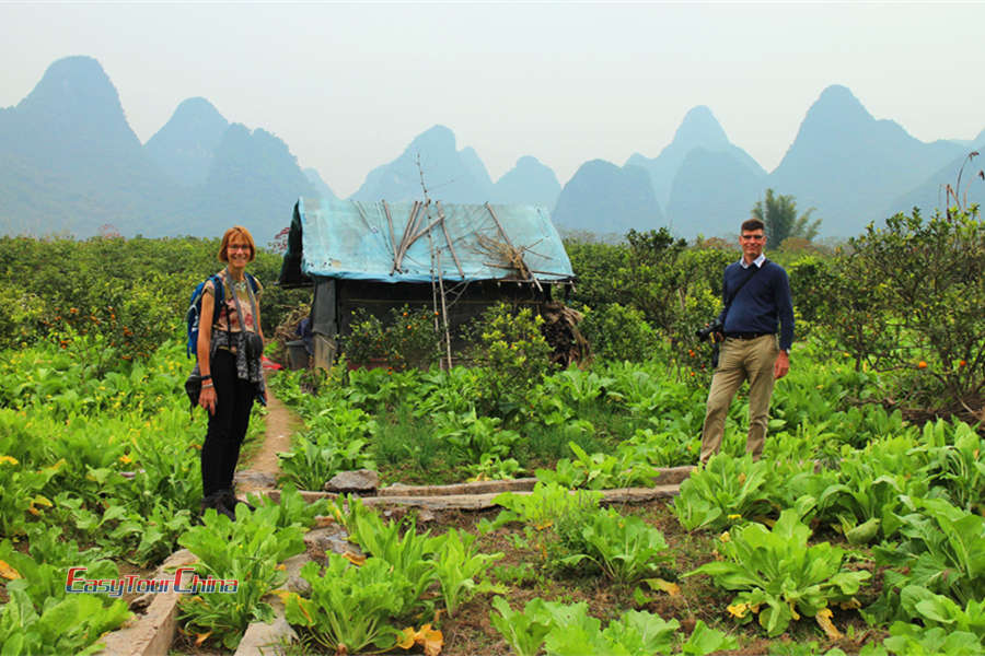 Hiking Yangshuo Countryside