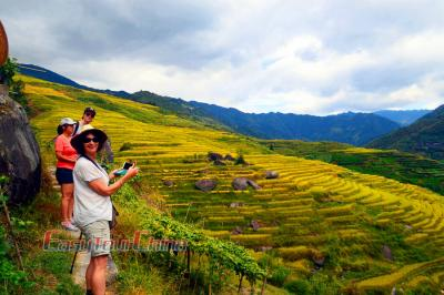 Australian Family's Hiking Tour to Longji Rice Terraces