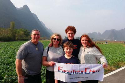 American Family Tour Yangshuo Countryside
