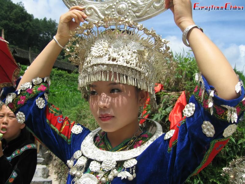 China travel map - Guizhou Miao Ethnic Sisters' Meal Festival Tour