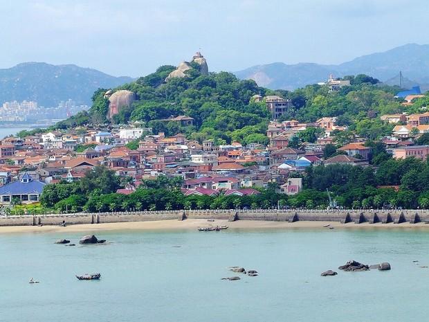 The Panorama Xiamen Gulangyu Island Travel Photos Images